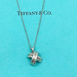 Authentic Tiffany & Co. Silver 925 Cross Necklace